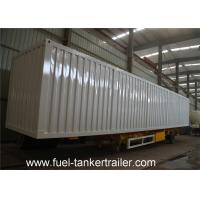 Wholesale Van type cargo transport box semi trailer for coal , dinas bulk building material from china suppliers