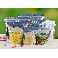 Wholesale Eco Friendly Stand Up Foil Pouches , Aluminum Foil Food Bags Witn Window from china suppliers