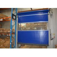 Wholesale Commercial plant workplace clean PVC  High Speed Industrial Doors fast rolling lift from china suppliers