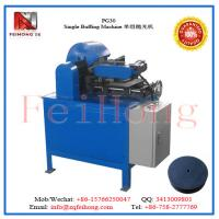 Quality Single Buffing Machine by feihong heating machinery for sale