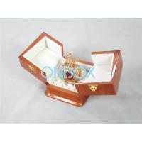 Wholesale High Gloss Perfume Packaging Box Recycled Wooden With Metal Lock from china suppliers