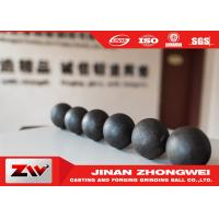 Buy cheap B2 B3 B6 60Mn Steel Material Forged Grinding Ball For Mining from wholesalers