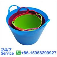 Wholesale Home flexible plastic bucket for horse feeding rubbish bins kitchen - BN6004-45L from china suppliers