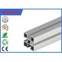 Wholesale 3838 T Slot Custom Aluminum Extrusions Material With Silver Anodized Surface Treatment from china suppliers