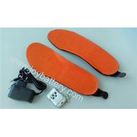 Wholesale Hot sale electric heating insole with 1650mAh Li-polymer battery from china suppliers