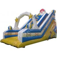 Wholesale Aladdin Magic Lamp Inflatable Water / Dry Slide Story Slide For Aquapark from china suppliers