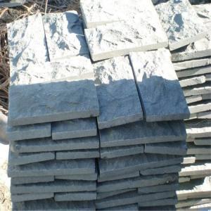 Wholesale China Granite Mushroom Wall Cladding Dark Grey G654 Granite Mushroom Stone from china suppliers
