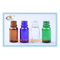 Wholesale Amber essential oil glass bottle 10ml from china suppliers