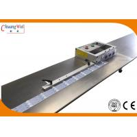 Buy cheap LED T8 Light PCB Seperator Machine 1.5m / 2.4m Stainless Steel Platform from wholesalers
