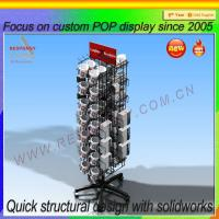 Buy cheap Custom Floor Standing Coffee Cup Display Rack from wholesalers