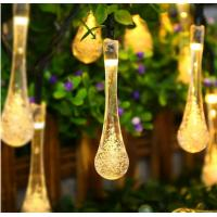 Wholesale Solar Tear Drop Solar String Fairy Waterproof Lights garden decoration party festival use from china suppliers
