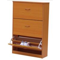 Wholesale Magic Wood Shoe Rack Cabinet With Three Drawers , Makeup Vanity Box DX-80A from china suppliers