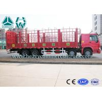 Wholesale Sinotruk Howo Heavy Duty Cage Structure Lorry Truck 9280 x 2300 x 800mm from china suppliers