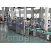 Wholesale Beverage Washing Filling Capping Machines , PET Glass Bottle Liquid Filling Machines from china suppliers