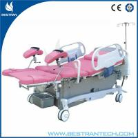 China Remote Controller Electric Obstetric Delivery Bed , Leg Section Up / Down Movement on sale