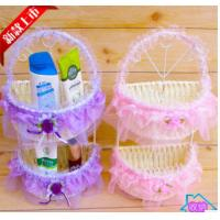 Wholesale Weaved Paper rope storage basket/box from china suppliers