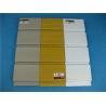 Buy cheap Supermarket Plastic Slatwall Panels Hot Stamping Environmental from wholesalers