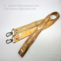 Quality Double Ends Open Lanyard with Rivet, Two Ends Dye Sub Print open Lanyards for sale