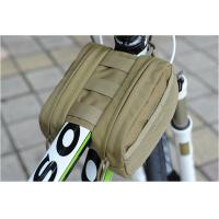 Wholesale Outdoor Cycling Mountain Bike Bicycle Saddle Bag Back Seat Tail Pouch Package khaki from china suppliers