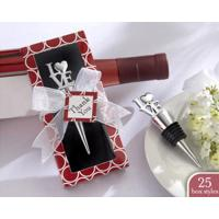Wholesale heart shape wine bottle stopper for promotion from china suppliers