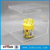 Wholesale Fashion style acrylic candy storage boxes display rack from china suppliers