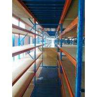 Wholesale Wooden Plate or Steel Plate, Q235B Steel Mezzanine Floor and Multi-layer Racking System from china suppliers