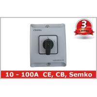 Wholesale Industrial IP65 20A Generator Changeover Switch EN 60947 EN 60204-1 from china suppliers