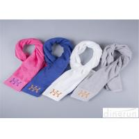 Wholesale Different Color Sports Gym Towels For Athlete Custom Satin Border from china suppliers