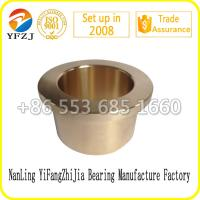 Wholesale Oilless bearing gold supplier plain bearing ,bronze bushing,flange  bearings from china suppliers