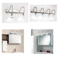 Wholesale Stainless Steel Makeup Mirror Led Lights , Electric Bathroom Mirror Light FUSXIN 11-4 from china suppliers