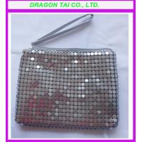 Buy cheap Silver aluminum sheet women handbags, lady bag from wholesalers
