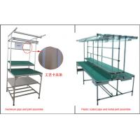 Wholesale Lean Pipe Rack Workstation Industrial Workbench Aluminum Plastic Coated Metal Joint from china suppliers