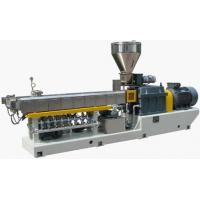 Wholesale Parallel Twin Screw EXtruder WPC Profile Extrusion Line For PE / WPC Granulating from china suppliers