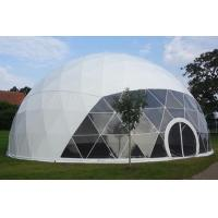 Wholesale Waterproof Eco Military Trade Show Large Dome Tent 30m Diameter from china suppliers