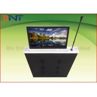 Quality Aluminum Alloy Integrated Ultra Thin LCD Monitor Lift With Touch Panel Control for sale