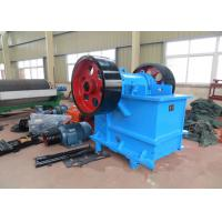Wholesale 100 TPH Rock Jaw Crusher / Rock Crushing Machine PE 500 × 750 mm Feed Opening from china suppliers