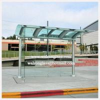 Wholesale Bent Tempered/Toughened Glass for Bus Shelter/Stop/Station from china suppliers