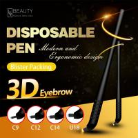 Wholesale U 18 Disposable Microblading Pen for 3D eyebrow Embroidery With Blister Packing from china suppliers