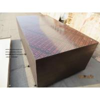 Wholesale CROWNPLEX brand film faced plywood,poplar core.Brown film faced Plywood.18mm cheap poplar crown  brand film faced plyw from china suppliers