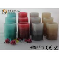 Quality Ivory Color Battery Operated Candles , Flameless Pillar Candles Long Lasting for sale