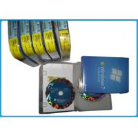 Quality English / Russian windows 7 ultimate 32 64 bit full retail version DVD retail box for sale