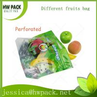 Wholesale banana, apple, grape, peach plastic packing pouch from china suppliers