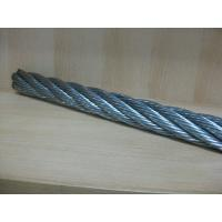 Wholesale Galvanized ASTM Crane Wire Rope 1 x 37 For Chemical Metallurgy from china suppliers