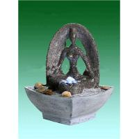 "Quality Yoga 9"" Backyard Water Fountains , Tabletop Indoor Fountains OEM Acceptable for sale"