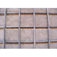 Wholesale Hi Rib 6x6 Reinforcing Wire Mesh Square / Rectangle Hole Shape 0.5m-3m Width from china suppliers