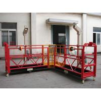 Buy cheap 90 Degree Red Steel Rope Suspended Window Washing Platform Cardle 3KW × pcs from wholesalers