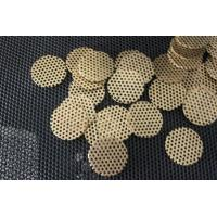 Wholesale S S Perforated Metal Mesh , Carbon Steel / Plastic / Metal Film Filter Disc from china suppliers