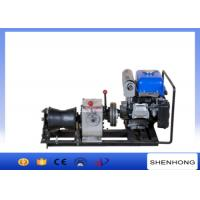 Wholesale 10KN YAMAHA Engine Cable Pulling Tools Belt Driven / Cable Powered Winch from china suppliers