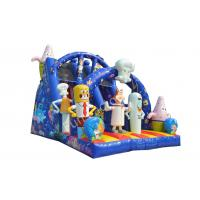 Wholesale EN14960 Spongebob Inflatable Slide Bouncer For Shopping Mall from china suppliers