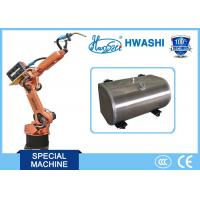 Buy cheap HWASHI 6 Axis Mig Tig Welding Robotic Arm for  Aluminum Fuel Tank from wholesalers